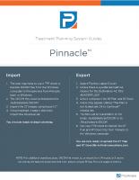 Pinnacle Guide