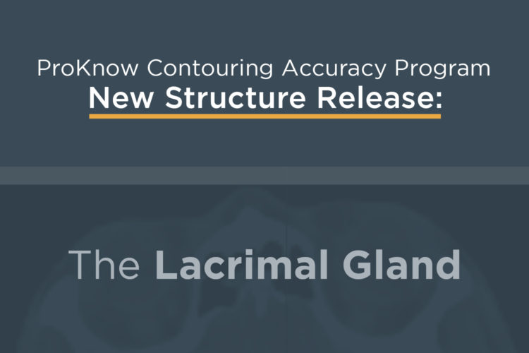 Announcing New CAP Structure: The Lacrimal Gland