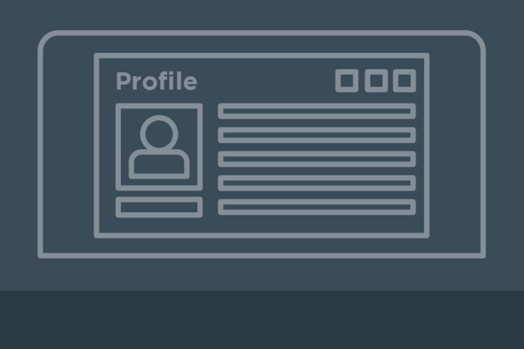 Your User Profile and Why It's Important